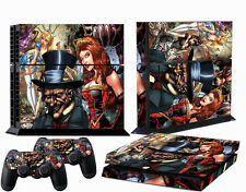 New Arrived Custom Cool Sticker Set for PS4 Console Controller Protector Skins