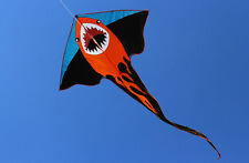 55in animal Shark Kite outdoor Sports Fun Toys novelty Single Line for kids