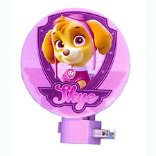 Nickelodeon PAW PATROL Skye Girl Pink Bedroom Night Light Lamp NEW