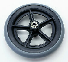 """Wheelchair Parts 8"""" Wheel Caster 5/16"""" Replacement E&J Style C81BG-516 1 pc NEW"""