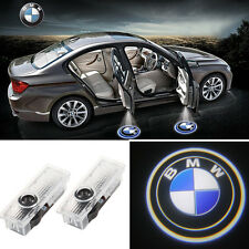 2PCS LED Car Door Step Welcome Projector Courtesy Shadow Light For BMW 3 5 6 7