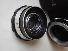 24x36  cine lens 35mm 2 M39 converted  po4  helios-33  ex+ ( AB )