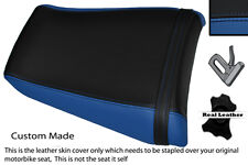 BLUE & BLACK CUSTOM FITS YAMAHA 1000 YZF 96-03 THUNDERACE REAR SEAT COVER