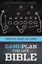 Brand New NIV The Game Plan for Life Bible Notes by Joe Gibbs 50% Off FREE SHIPP
