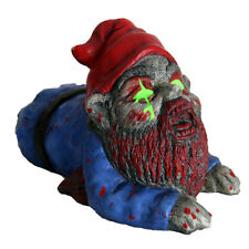 Zombie Gnome Crawler Scary Halloween Horror Prop Joke Gift Garden Decoration