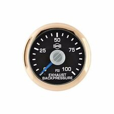 FITS FORD DODGE CHEVY AND MORE ISSPRO 55 EV2 EXAUST BACK PRESSURE GAUGE..
