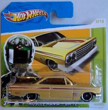 Hotwheels (2012) '62 CHEVY - MUSCLE MANIA - #103/247 - 1/64 - MOC
