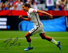 TOBIN HEATH REPRINT AUTOGRAPHED SIGNED PICTURE PHOTO USA OLYMPICS RP SOCCER