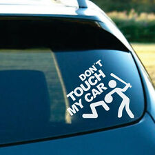 1*Auto Car Tailgate Rear Trunk Funny Reflective Don't Touch My Car Decal Sticker