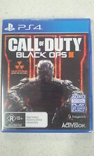Call of Duty Black Ops III 3 Sony PS4 Brand New & Sealed Australian Version
