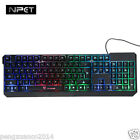 Pro New Colorful Illuminated Backlight USB Wired PC Gaming Backlit Keyboard Led