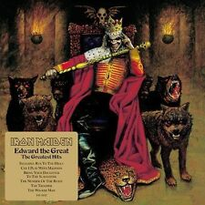 Iron Maiden / Edward the Great: Greatest Hits (CD) Nicko McBrain, Janick Gers !!