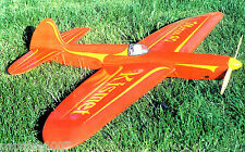 "Model Airplane Plans (UC): KLASSIC KISMET 59""ws Stunt for .40-.46ci Engine"