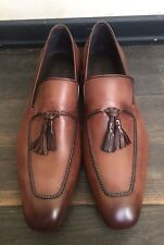 New Berluti Brown Patina Loafers Shoes Size 44, UK-10, US-11