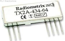 RADIOMETRIX   TX2A-434-64   RF MOD, TX, FM, 434.42MHZ, 64KBPS