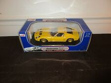 New Anson Lamborghini Miura P400 SV Coupe V12 Yellow Car 30302 1:18 Diecast-
