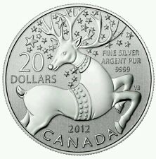 Canada - 20 Dollars - $20 for $20 - Magical Reindeer (2012) - Silver 9999