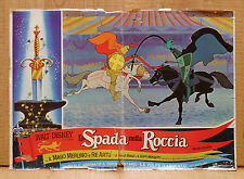 LA SPADA NELLA ROCCIA fotobusta poster Walt Disney The Sword in the Stone 1963
