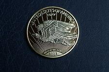 Medaille oder Münze USA 20 Dollar Double Eagle von 2003