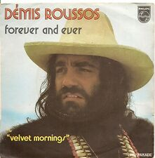 """45 TOURS / 7"""" SINGLE--DEMIS ROUSSOS--FOREVER AND EVER--"""
