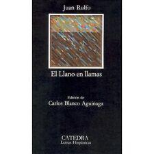 El Llano en llamas Coleccion Letras Hispanicas, 218  Spanish Edition