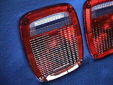 1 Pair Rear Tail Light Lenses 78 79 80 90 91 92 93 94 Jeep GMC Chevy Truck Lens