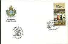 GENOA 120° CALCIO CON APPENDICE ALTA 1893-2013 FDC SAN MARINO BUSTA PRIMO GIORNO