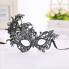 Women Fancy Dress Costume Lace Hollow Eye Mask Masquerade Ball Halloween Party