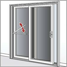 Sliding Door Security Bar Jimmy Proof Patio Doors Jammer Brace Intrusion Safety