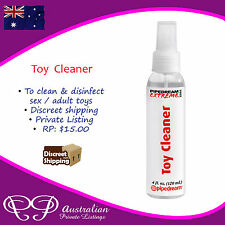 Spray on Toy Cleaning / Cleaner Solution Mist for Adult Toys - 120ml big bottle