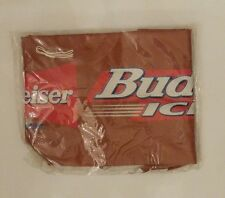 Budweiser Bud Light Bud Ice Beer Inflatable Football New in Package Mancave Bar
