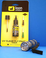 LOON UV Kleber THICK 2 Dosier-Spitzen & Pinsel & UV LAMPE UV THICK & UV TORCH