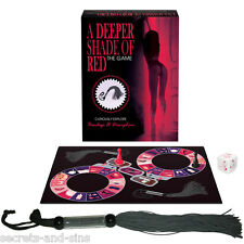 A Deeper Shade of Red Bondage Game,Whip Included Adult Sex Game Code: KGBGR177