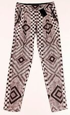 L.A.M.B Gwen Stefani COLLECTION Runway SLOUCHY Low Rise TROUSER Pants SILK $325