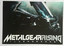 Metal Gear Rising: Revengeance---Verkaufs-Prospekt---Rar---Selten---TOP