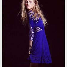 Free People To The Point Voile Dress XS Purple ❤️