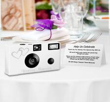 20 Double Hearts Disposable Cameras Wedding Cameras, Fuji film