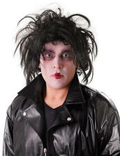 Black Messy Wig Edward Scissor Hands Johnny Depp Halloween Fancy Dress