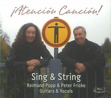 CD RAIMUND POPP & PETER FRICKE - sing & string, atencion cancion