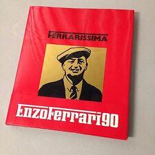 FERRARISSIMA 8: Enzo Ferrari 90 (Rare Ferrari Book!)