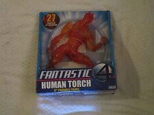 "Toy Biz Marvel Fantastic Four 4 Human Torch 12"" Inch Poseable Figure 2005 Movie"