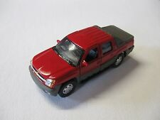 WELLY 1:38 SCALE CHEVROLET AVALANCHE DIECAST TRUCK PULLBACK W/O BOX NEW!