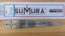 "10"" Simon O'Rourke signature chainsaw carving bar by Tsumura .050 gauge"