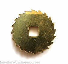 20mm REPLACEMENT BRASS CLOCK WINDING RATCHET WHEEL SPARES REPAIRS PARTS