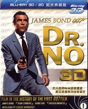 James Bond 007 Dr. No (1962) 3D+ 2D Blu-ray Edition All Region New Sealed