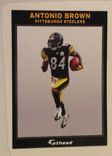 """Antonio Brown FATHEAD #2 Ad Panel 6"""" x 4"""" Steelers NFL Wall Graphics Sign Decal"""
