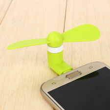 Green Portable Super Mute Lightning USB Mini Fan Cooler For Apple Iphone 5 6 6S