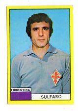 CALCIO FIGURINA CALCIATORI  EDIS  1971-72  SULFARO FIORENTINA  NUOVA CON VELINA