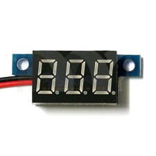 Mini DC 0-30V 2-Wire Voltmeter Red LED Display Volt Meter Digital Panel Meter