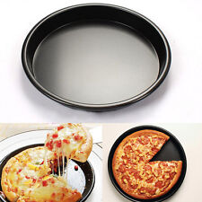 "2015 New Round Deep Dish Pizza Pan 8"" Non-stick Pie Tray Baking Kitchen Tool HU"